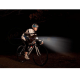 Philips BF60L60BALX1 LED Bike lights SafeRide 60 LUX, accionada por dinamo, Aluminio plateado