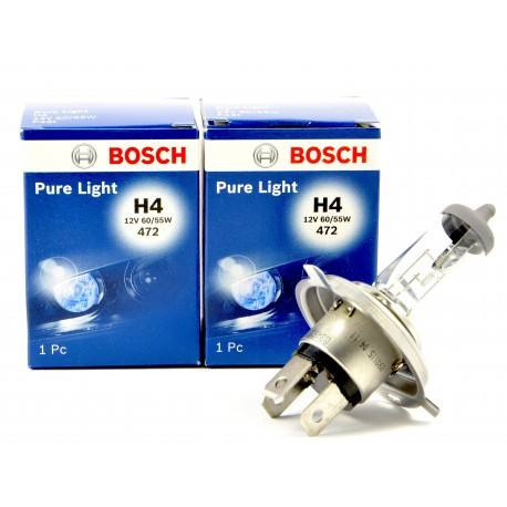 Lampara H4 halogena pure light Bosch