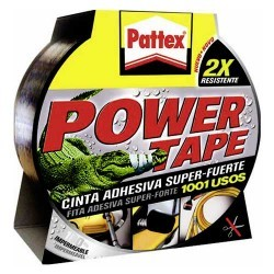 Pattex Power Tape cinta adhesiva super-fuerte 50x10m gris