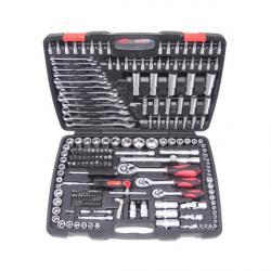 """Juego herramientas autoclé 218 piezas 1/4"""", 1/2"""" y 3/8"""" ToolHub"""
