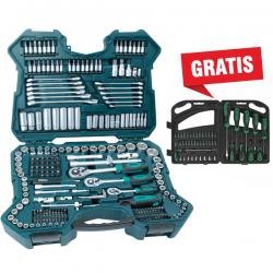 Juegos de llaves de vaso y otras herramientas 215 piezas