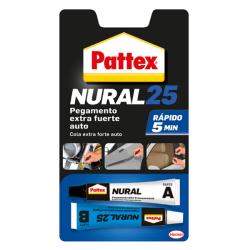 Nural 25 pegamente extrafuerte auto Pattex