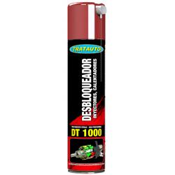 DT1000 Desbloqueador de inyectores, calentadores y bujías Tratauto 300ml
