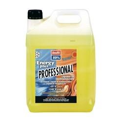 Anticongelante refrigerante 5L 50% -37ºC energy plus long life amarillo fluorescente