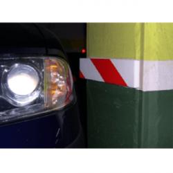 Protector Plaza garaje 2 unidades pared lateral adhesivo